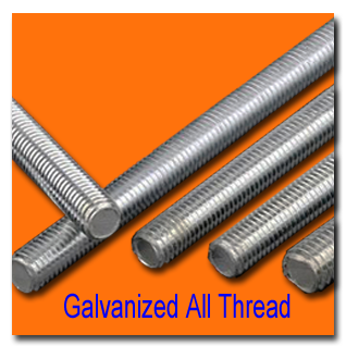 Galvanized All Thread